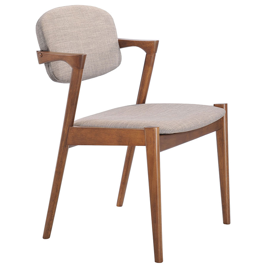 Brinkley Modern Dining Chair in Dove Gray
