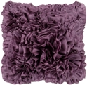 Brussels Modern Accent Pillow in Plum