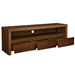 Banfield Walnut Veneer Contemporary TV Stand