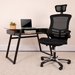 Bryce High Back Black Modern Executive Offie Chair