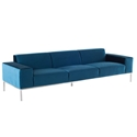 Bryce Sofa in Midnight Blue by Nuevo