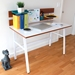 Burnet Contemporary Desk with Organizer Wall