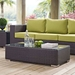 Cabo Contemporary Espresso Outdoor Coffee Table