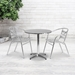 Calais Modern Outdoor Table - 27.5 in. Round