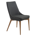 Calais Charcoal Modern Dining Chair