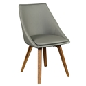 Corsica Gray Modern DIning Chair