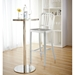 Callie Bar Stool - Brushed Aluminum