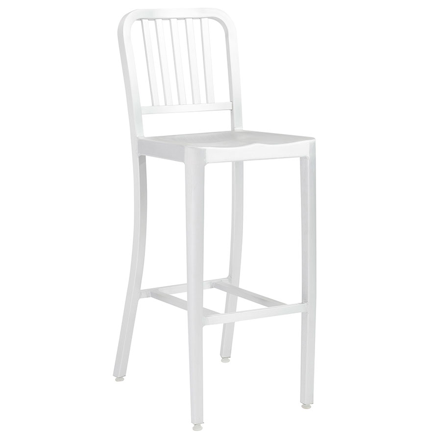 Callie Modern Aluminum Bar Stool