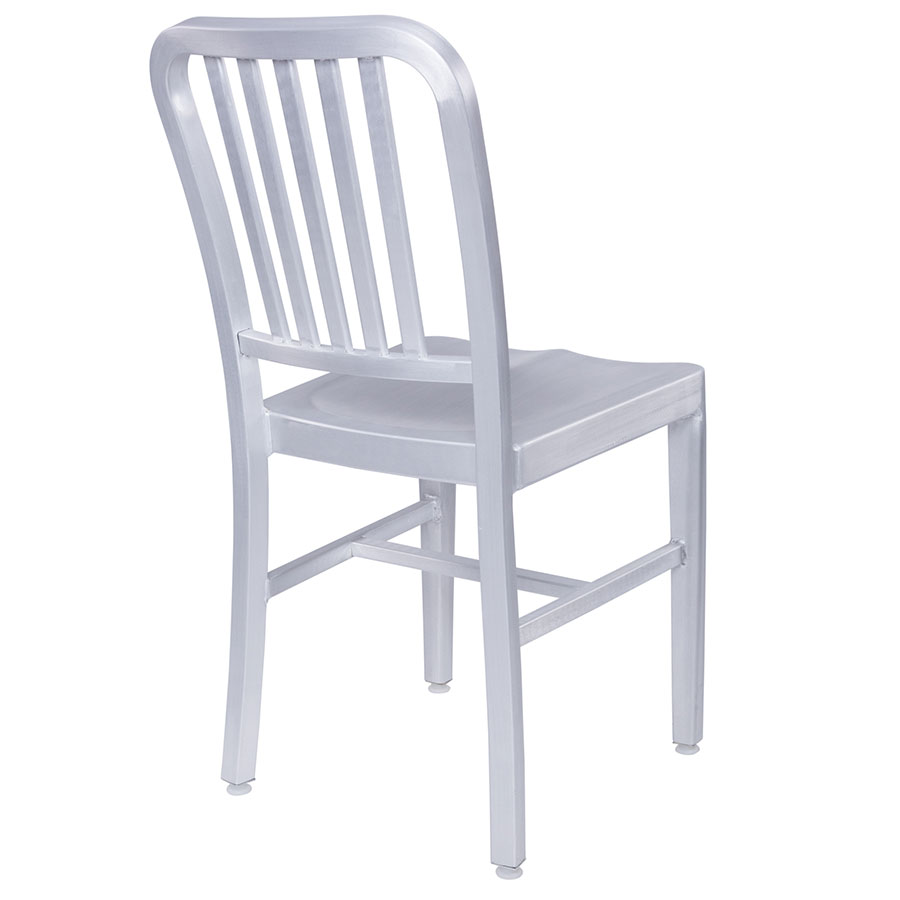 depot restaurant seating aluminum chairs chair brushed dining shop