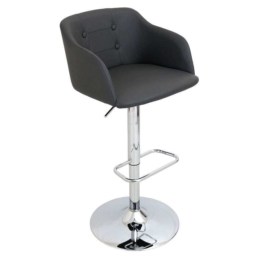 Callum Gray Modern Adjustable Stool