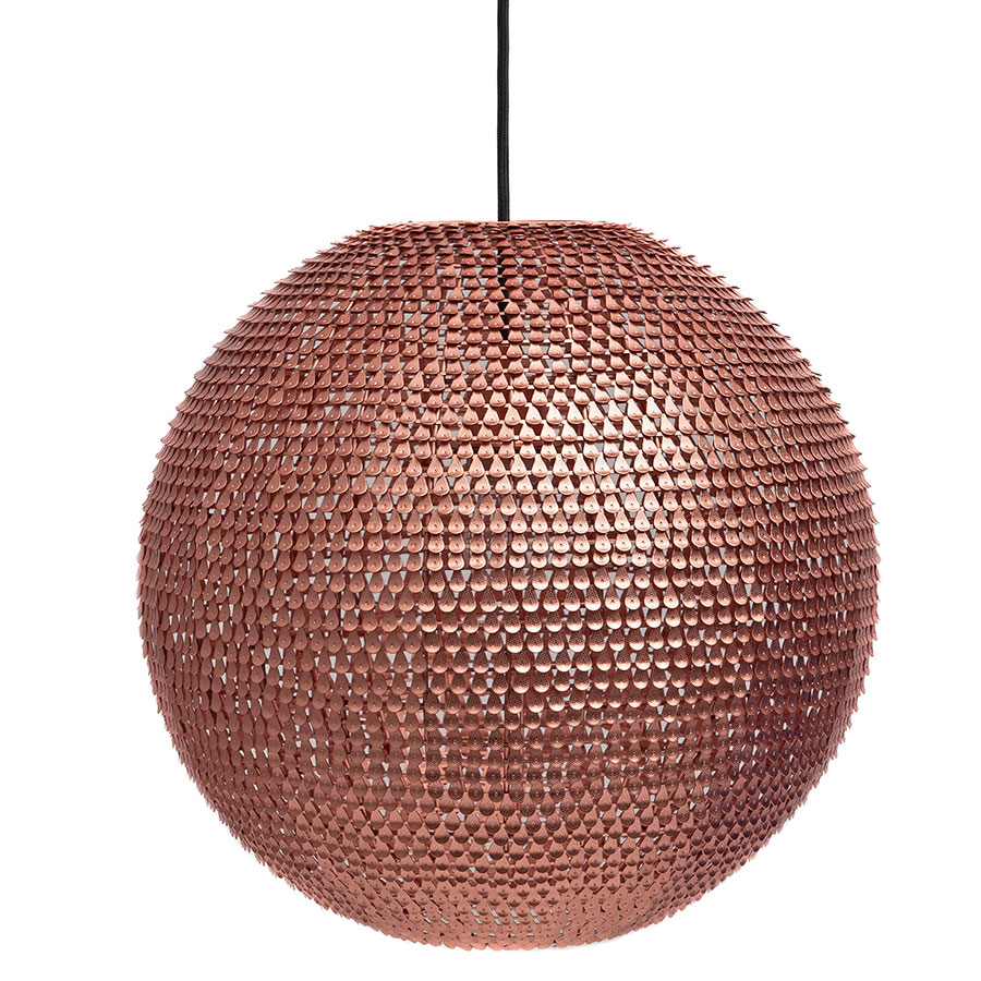Calvin Modern Copper Hanging Lamp
