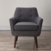 Calypso Gray Contemporary Arm Chair