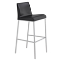 Cam Modern Black Bar Stool