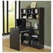 Cameron Cappuccino Reversible Modern Desk Left Room