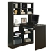 Cameron Cappuccino Reversible Modern Desk Right