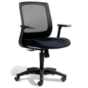 Camilla Modern Black Office Chair
