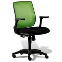 Cayman Modern Green/Black Office Chair