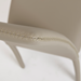 Camille Taupe Modern Side Chair