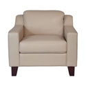 Campbell Contemporary Leather Chair