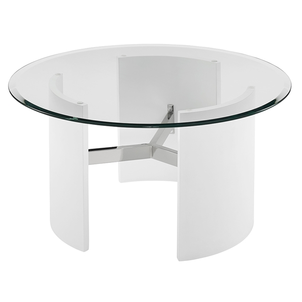 Canada Modern White Coffee Table