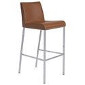 Cam Modern Cognac Bar Stool