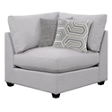 Candice Modern Gray Corner Chair
