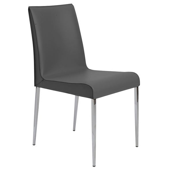 Cam Modern Gray Dining Chair