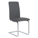 Candide Gray Modern Dining Side Chair