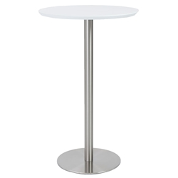 Cardin Modern White Bar Table
