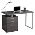 Carey Modern Gray Desk