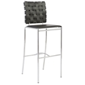 Carter Modern Black Bar Stool