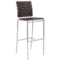 Carter Modern Brown Bar Stool