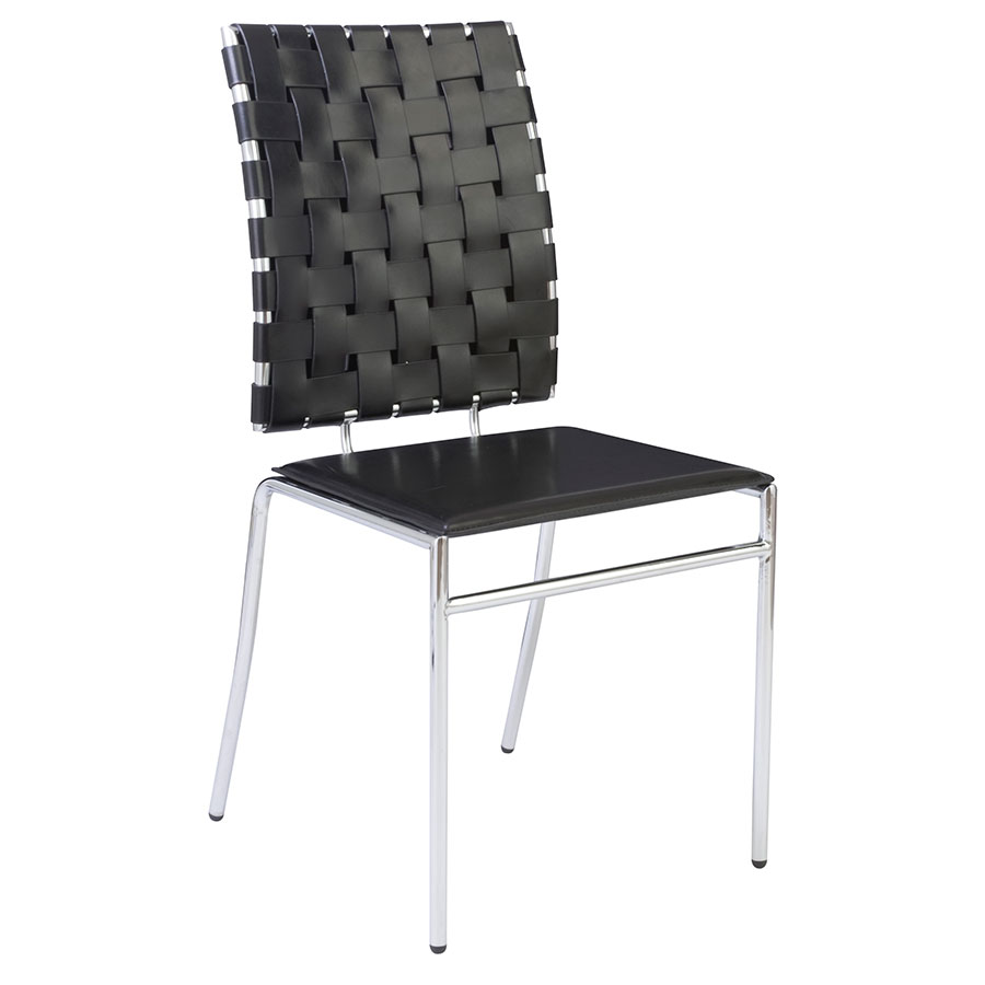 Carter Modern Dining Chair in Black