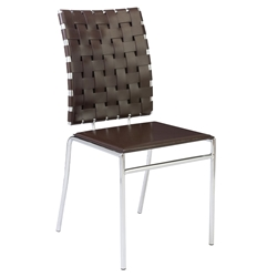 Carina Modern Brown Dining Chair