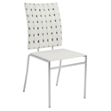 Carter Modern White Dining Chair