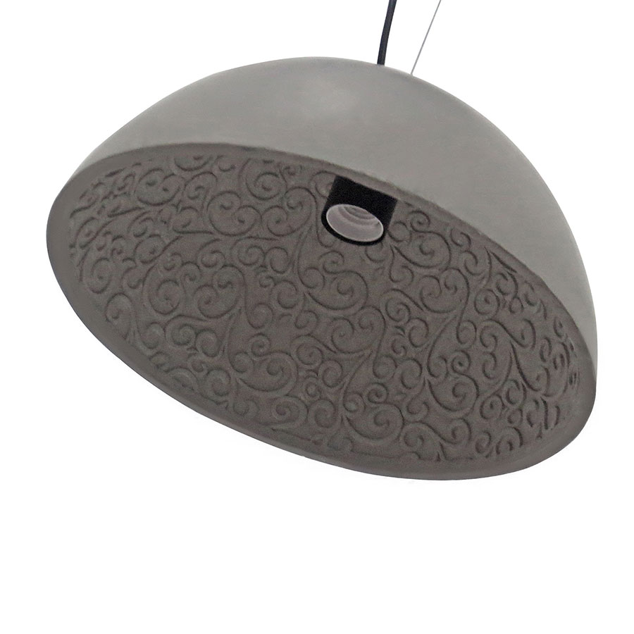 Carlton Contemporary Concrete Hanging Lamp