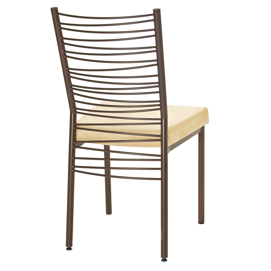 Carly Modern Dining Chair - Sienna Finish