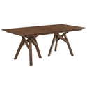 Carmen Modern 79 inch Walnut Dining Table