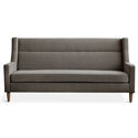 Gus* Modern Carmichael Loft Contemporary Sofa in Bayview Osprey Fabric Upholstery