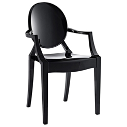 Caroline Arm Chair in Black