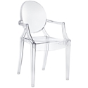 Caroline Arm Chair in Clear