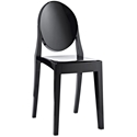 Caroline Black Polycarbonate Side Chair