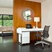 Cascadia White Contemporary Desk by BDI