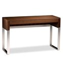 Cascadia Walnut Contemporary Laptop Desk by BDI