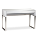 Cascadia White Contemporary Laptop Desk by BDI