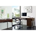 BDi Cascadia Chocolate Stained Walnut Modern Office Set - Room Shot
