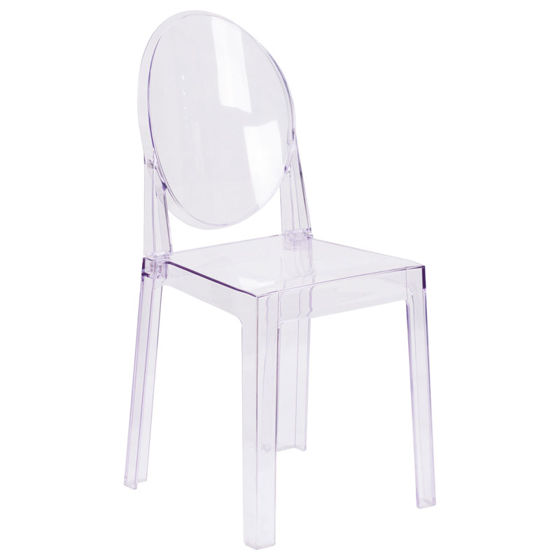 Cassidy Modern Clear Polycarbonate Dining Chair