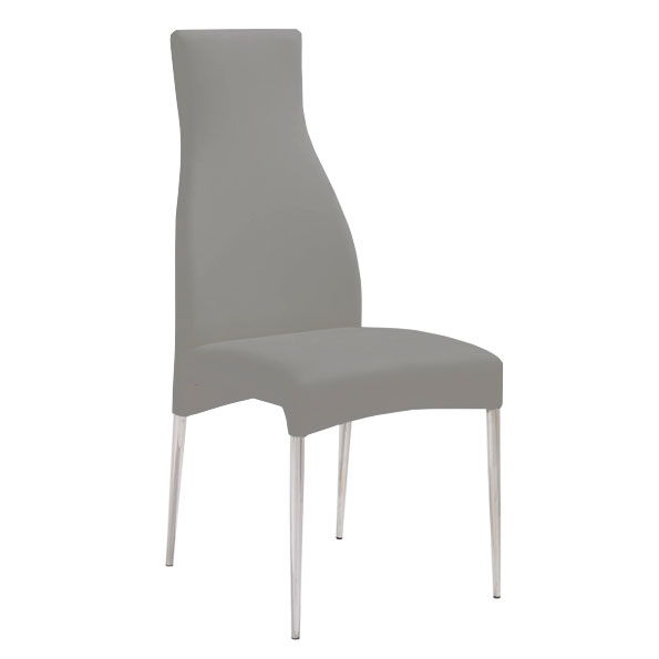 Cato Contemporary Taupe Dining Chair