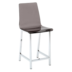 Cefalu Modern Smoke Counter Stool