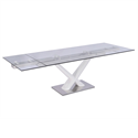Celeste White Modern Dining Table